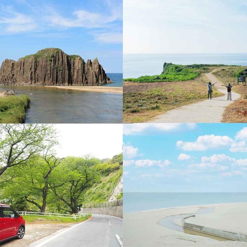 青い空と海を眺める旅―丹後半島絶景ドライブ!
