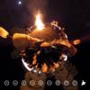 京都の三大火祭り「嵯峨お松明式」#360pic