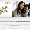 IHGのプロモーションで5,000ポイントを獲得しました。
