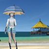 【FFXIV】あえてのビニ傘とか実装したら面白そう。