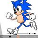 キャラクターが走っている動画を作るってのは意外と簡単に出来ます。【今ソニック制作中】