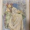 ミュシャぬりえファンタジー【ヒヤシンス姫のポスター】完成したけど…