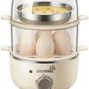 火を使わずゆで卵、蒸し料理、焼売が簡単に作れるスチームクッカー フードスチーマーが人気