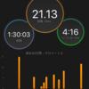 21.1kmペース走【12〜8日前 第33回守谷マラソン】