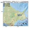 2016年07月05日 03時02分 北見地方でM3.2の地震