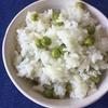 生のまま「えんどう豆」を冷凍保存する方法と「豆ごはん」の作り方・レシピ。