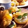 シュークリーム〜桜と抹茶のパウンドケーキとオーブンシートでラッピング〜ロックダウンの合間