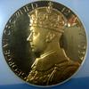 イギリス1937年ジョージ6世戴冠記念ゴールドメダルMS63