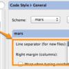 IntelliJでファイルの改行コードを指定する