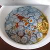 キムチラーメンにドラえもんのおさかなチップを100枚入れて食べてみました