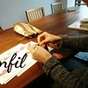 レッスンレポート)11/28個人レッスン こだわりを持って編むと出来上がりに満足できます