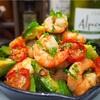 【レシピ】海老とアボカドのアヒージョ