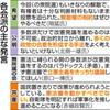 憲法審 進め方に温度差 自・維議論促す 公・立警戒感 - 東京新聞(2017年12月1日)