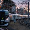 1/9  E257系0番台M-105編成 臨時快速「成田山初詣青梅号」