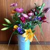 色とりどりの花束