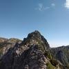 中央アルプス 宝剣岳(ほうけんだけ)〜空木岳へ その2