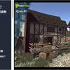 Medieval Village バリエーション豊かで活気のある「中世の村」外観の3Dモデル素材