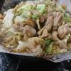 愛知遠征1。岐阜県下呂市にある食堂、まるはち食堂で名物のけいちゃん定食。