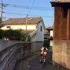 30)次郎丸の古い家並み