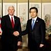 「我々をテストしない方が」 米副大統領、北朝鮮に警告