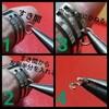 Tピン、9ピンの曲げ方、輪の作り方、指カンの使い方