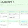 Pico私設応援サイトを製作・公開しました