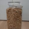 カルビーフルグラ800g+500gでフレッシュロック米びつ(3㎏、4L)が満タンになる