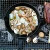 【BBQレシピ】ニトスキでアヒージョの作り方(素と冷凍シーフードで簡単調理)