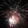 独立記念日の前夜祭…ホプキンスビル ・カントリークラブの花火大会を楽しみました…