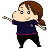 クレヨンしんちゃん風イラストのご依頼を頂きました!