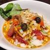創作イタリアンつけ麺【アジトイズム 】創作まぜそば「ピザソバ」@大井町