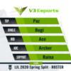 【チーム動向】V3 Esportsのメンバー発表