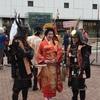 第一回姫路着物祭りへ。