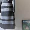 コーデリレーその8、ウエストヨークのAラインスカート。