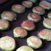 ヨモギの焼き餅