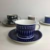 フィンランドから素敵なコーヒーカップがやってきました!ハンドペイントデザイン!