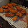 幸運な病のレシピ( 1417 )朝 :鳥カツ、コロッケ(ポテトサラダ)、干物魚、鮎の甘露煮、味噌汁