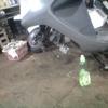 JF04 フロントブレーキ清掃とサスリンクグリスアップ