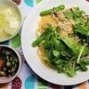 【まごわやさしい】しらすとしし唐辛子の和風パスタ定食の作り方。