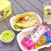【ピクニック飯】こぼれる系ランチ代表のタコスでピクニック! / グズマン・イー・ゴメズ (Guzman y Gomez) @maihama