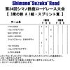 shimanoスズカ 2days ①土曜 3周の部1組