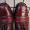 最適な靴磨きの方法は?スコッチグレインの革靴を再び磨いてみた