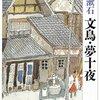 小説問題・純客観的解法『夢十夜・第六夜』夏目漱石と文明開化