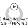 はてなブログでgifの代わりにmp4で投稿するために、Github Actionsでgif→mp4変換を自動化した