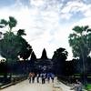 カンボジア プノンペンーシェムリアップ バス移動