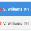 セリーナvsビーナス・ウィリアムズ姉妹の対戦成績とラケットやウェア【全米オープンテニス2018】3回戦の日程は