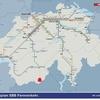 ジュネーブからツェルマット スイス鉄道の旅 快晴の世界の車窓から 2018 欧州旅行その14