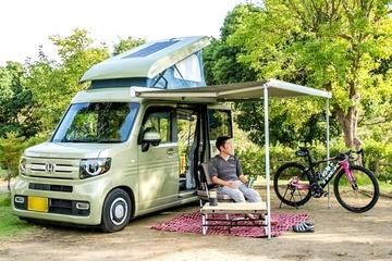 釣りにキャンプにロードバイクに車中泊! 軽キャンパー「N-VAN COMPO」オーナーの休日に密着