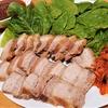 お家でつくる本格韓国料理 第2弾!韓国風ゆで豚『ポッサム』