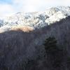 霧氷の奥駈道で参拝…弥山